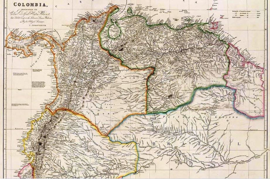 geschiedenis colombia