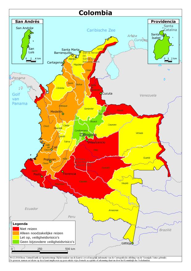 reisadvies colombia