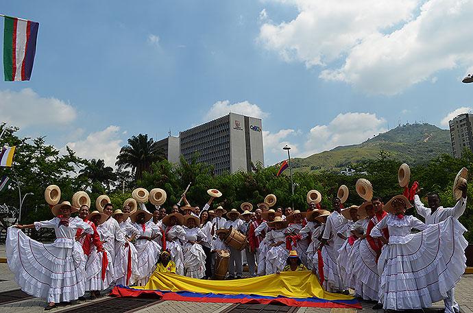 Muziek en dans uit Colombia