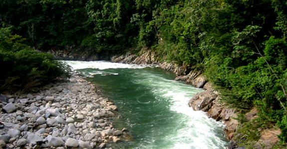 Cañon del Río Claro colombia