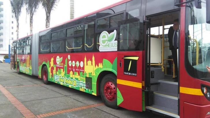 De eerste elektronische Bus in Colombia - colombia nieuws