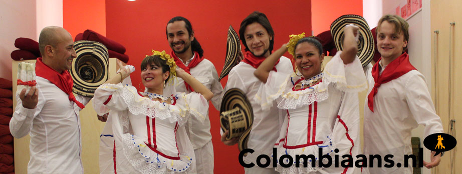 Colombiaanse dansgroep Aires Colombianos