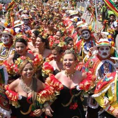 geschiedenis van het Carnaval van Barranquilla