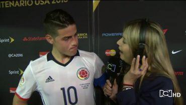 Colombia in de ban van flirterige sportjournaliste Andrea Guerrero