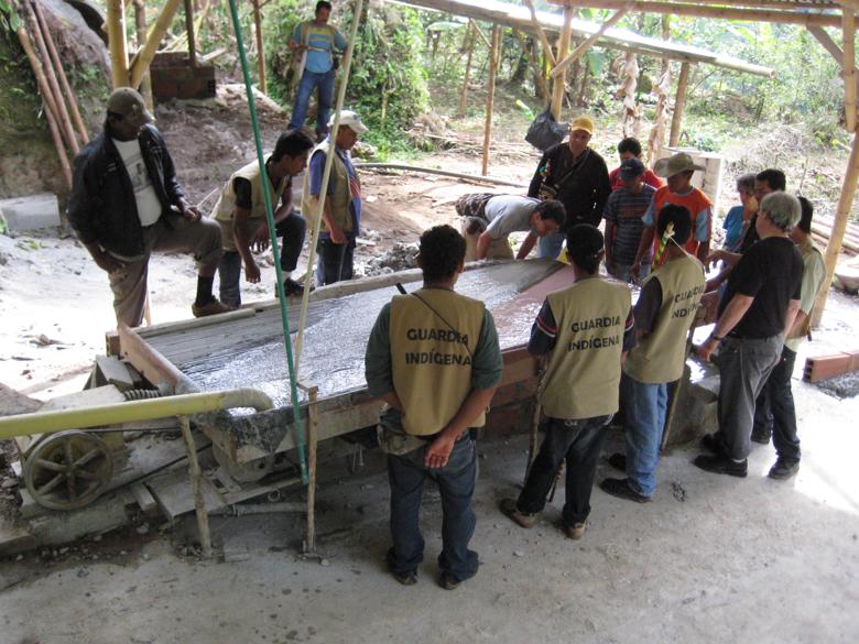 Colombiaanse indianen vermoord voor goud
