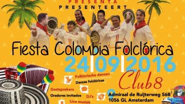 Colombiaans.nl organiseert met Aires Colombianos een Colombiaanse Folklore Avond