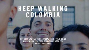 keep walking colombia