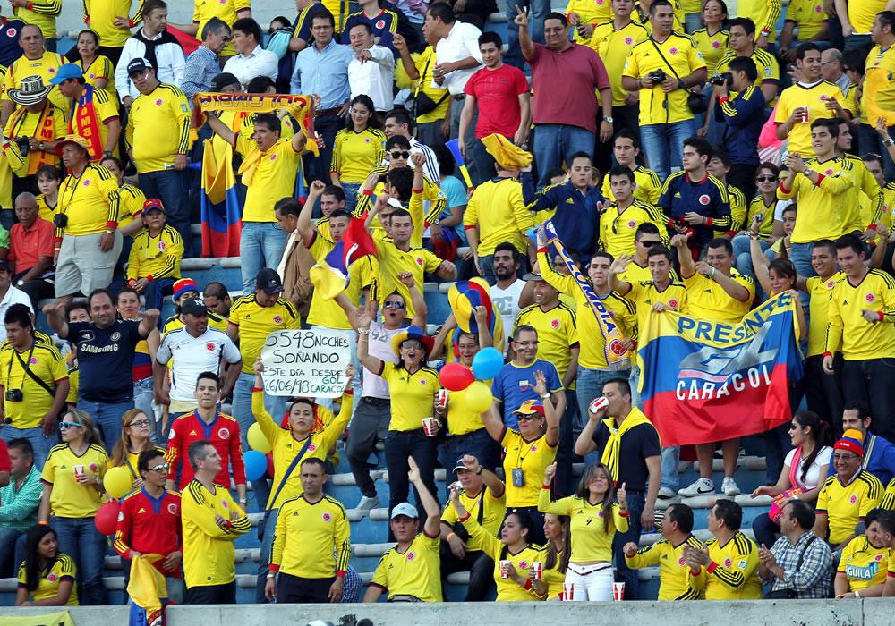 Colombia's volgende tegenstanders WK-kwalificatie