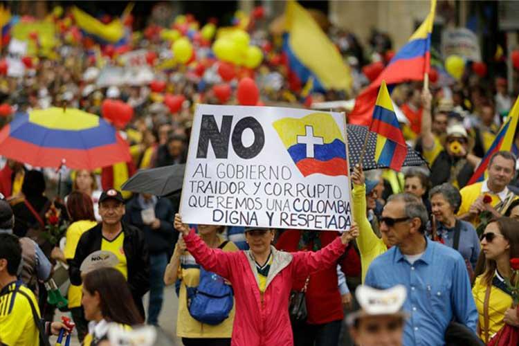 Verdeeldheid over stemming in Colombia