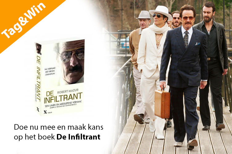 Tag&Win-actie The Infiltrator
