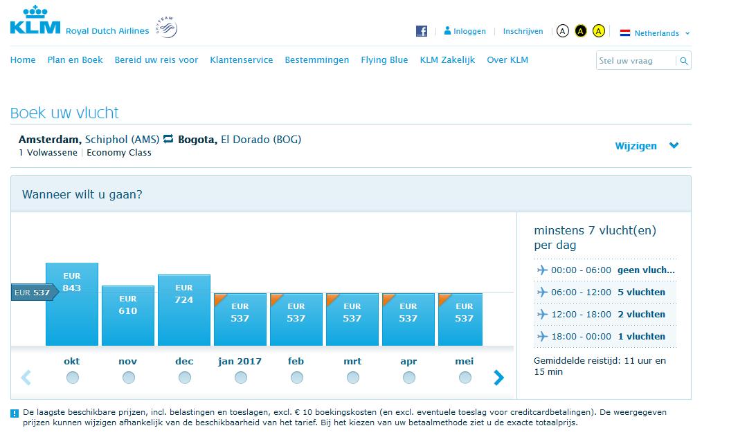 De KLM Vijf Dagen Voordeel van start