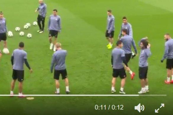 James komt op voor zoon Zidane