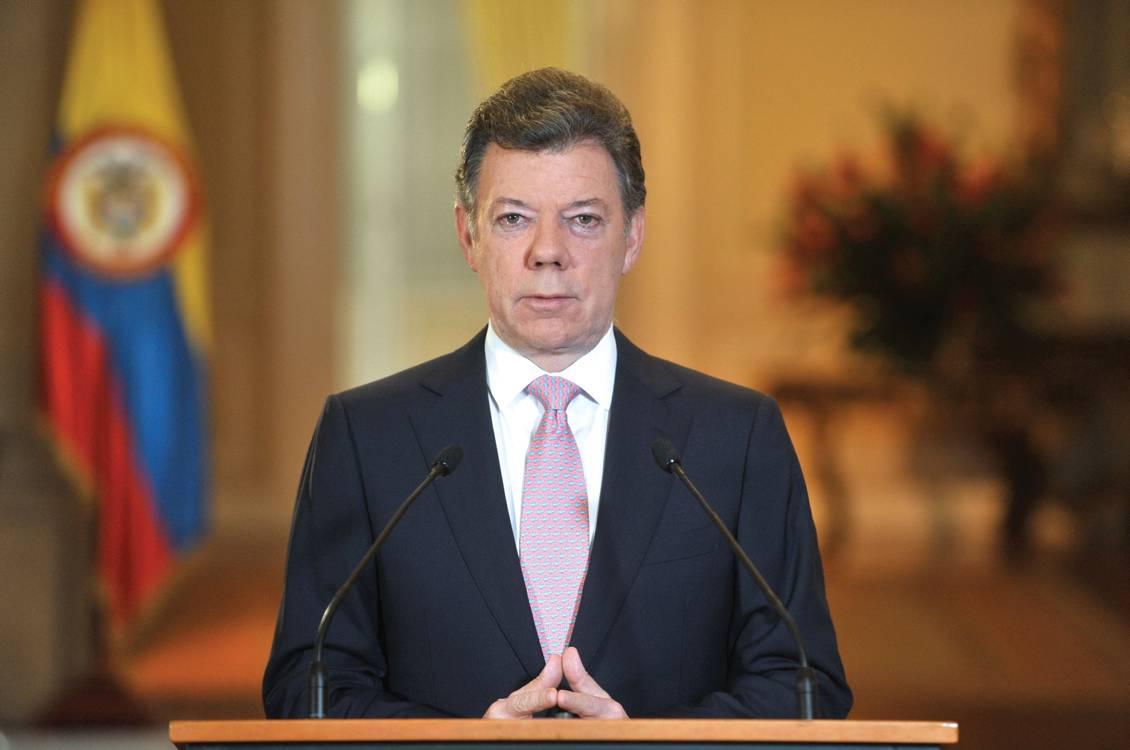 President Santos wint Nobelprijs voor de Vrede