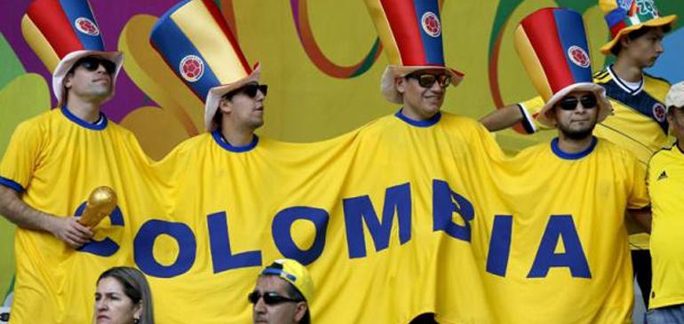 Voetbalploeg Colombia krijgt draai om zijn oren van Algerije
