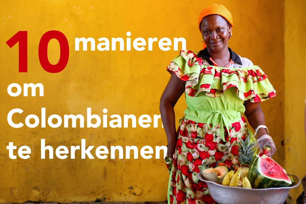 10 manieren om Colombianen te herkennen