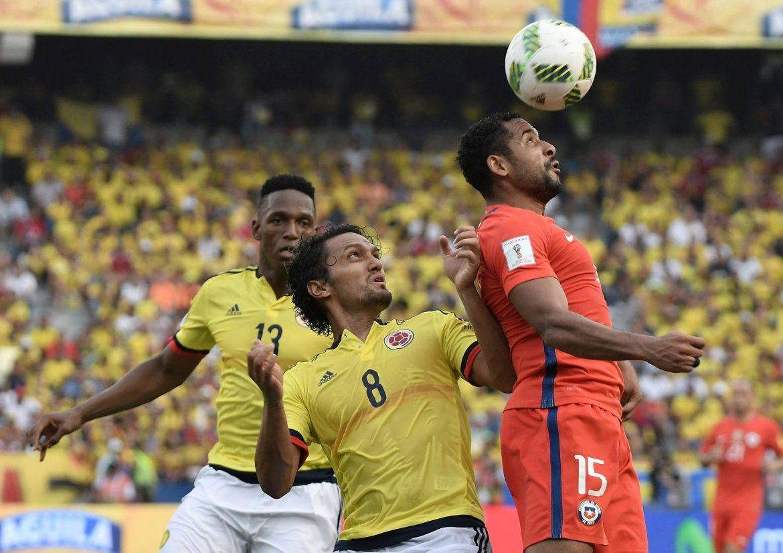 Chili houdt Colombia op gelijk spel