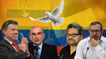 Het Congres accepteert nieuwe vredesakkoord, einde van 52 jaar oorlog