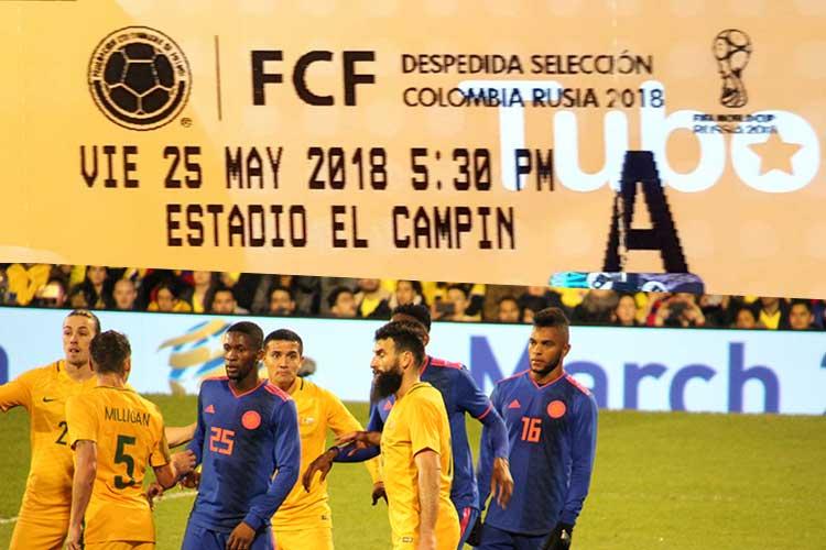 Colombia zwaait voetbalselectie uit