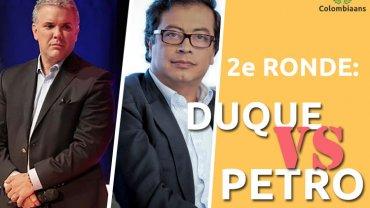Colombiaanse presidentsverkiezingen heeft tweede ronde nodig