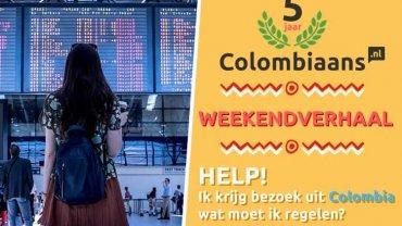Ik krijg bezoek uit Colombia, wat moet ik regelen?