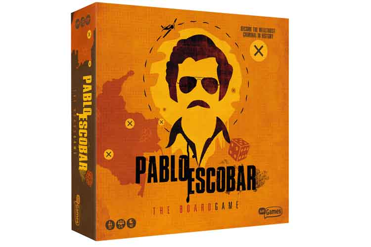 Just Games brengt Pablo Escobar the boardgame uit