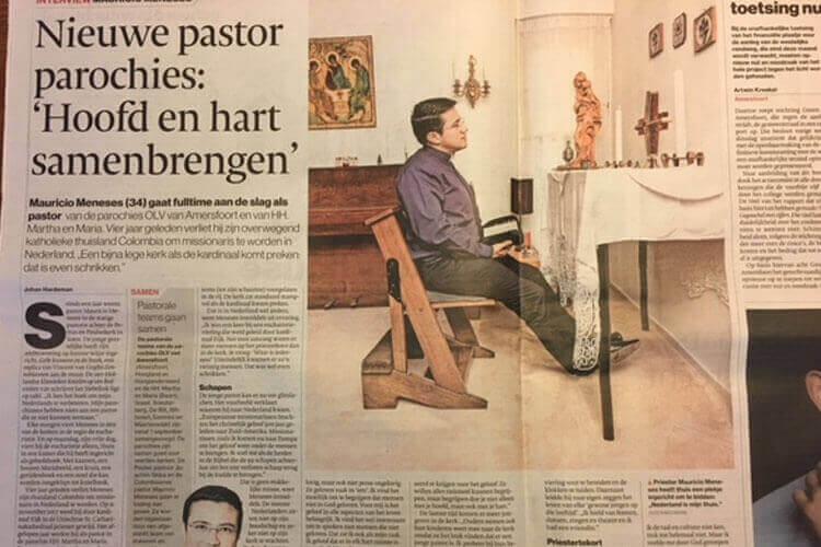 Colombiaanse pastor Meneses aan de slag in Soest