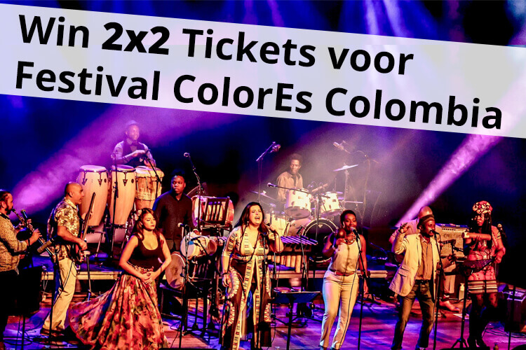 Win 2x2 Tickets voor Festival colores Colombia !