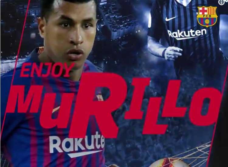 Colombiaan Jeison Murillo naar FC Barcelona