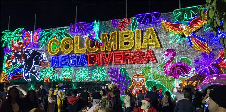 Kerstmis in Medellin