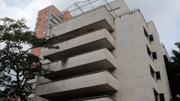 Beruchte 'Escobar-gebouw' opgeblazen