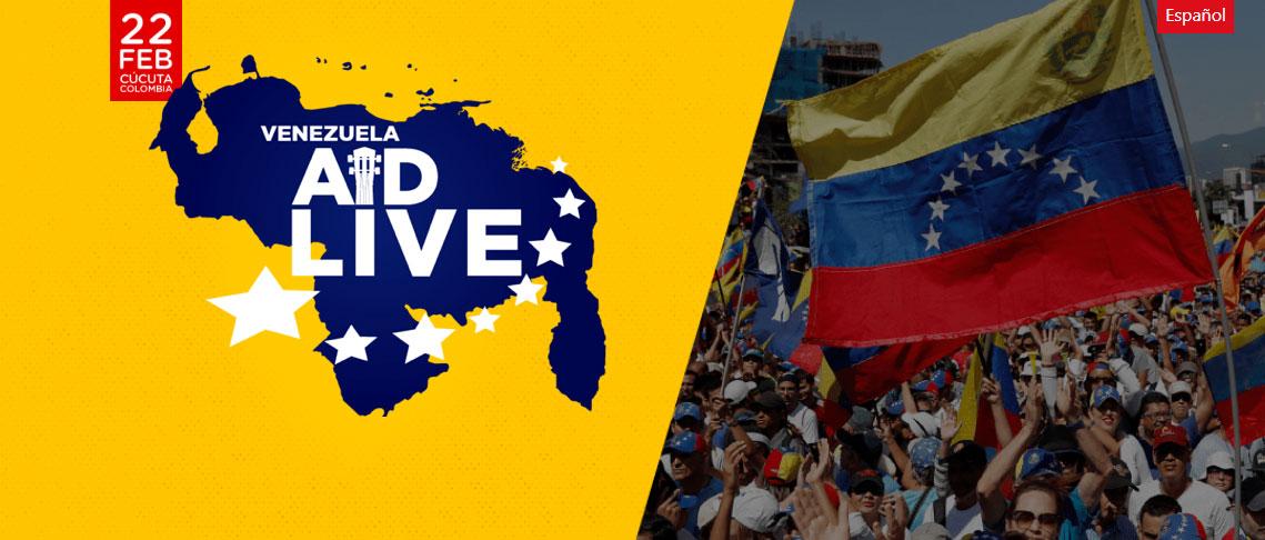 Venezuela Aid Live vanuit Colombia
