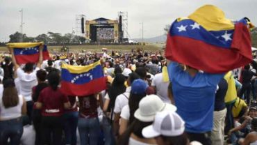 Venezuela Live Aid in Colombia groot succes