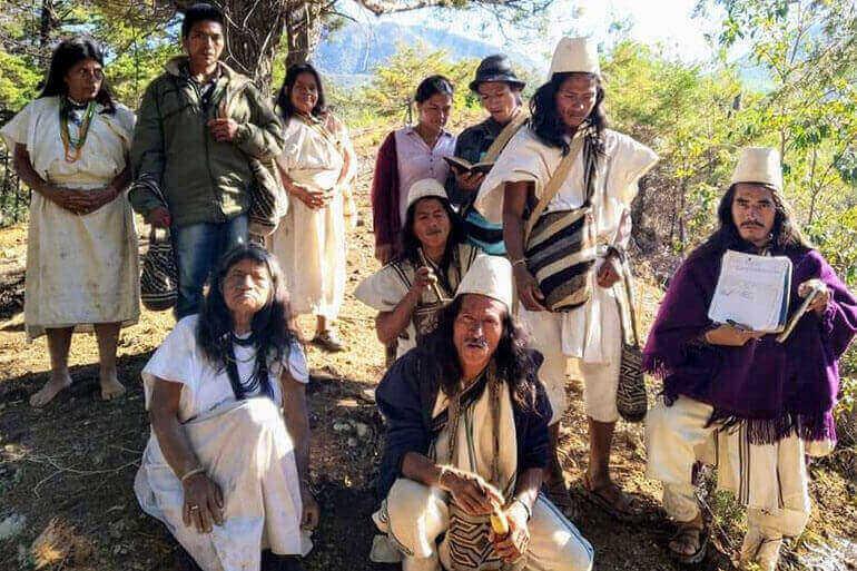 Colombiaanse stam Arhuaco