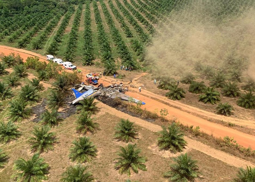 12 doden vliegtuigcrash in Colombia