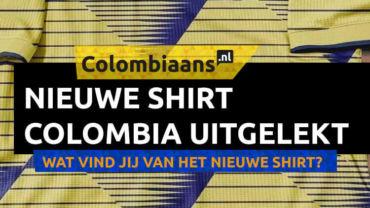 Nieuwe shirt Colombia 2019 gelekt