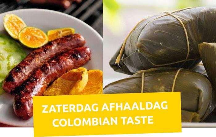 Zaterdag afhaaldag bij Colombian Taste