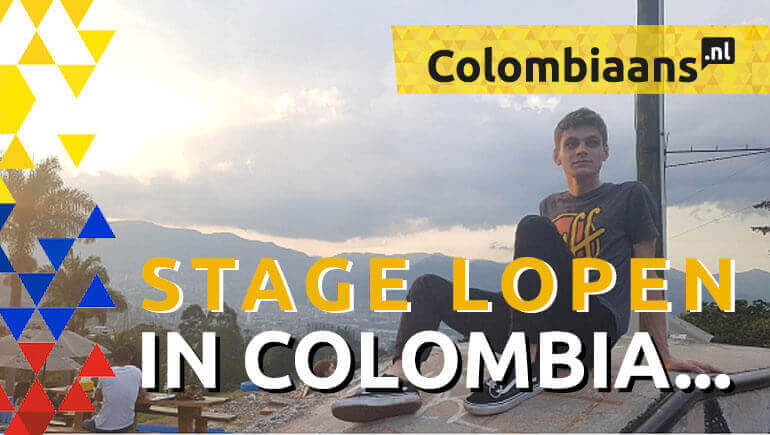Stage lopen in Colombia