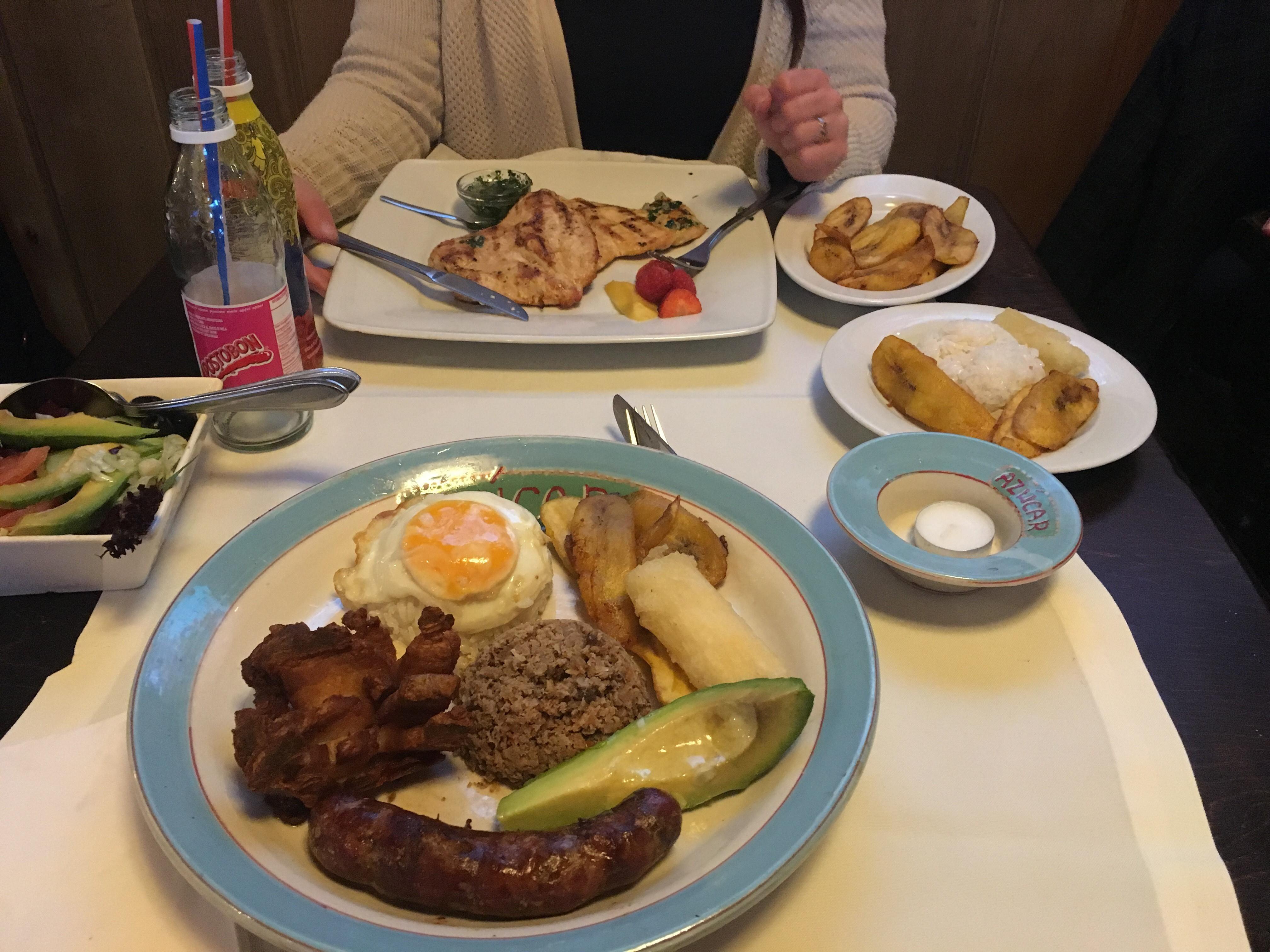 colombiaanse restauranten azucar