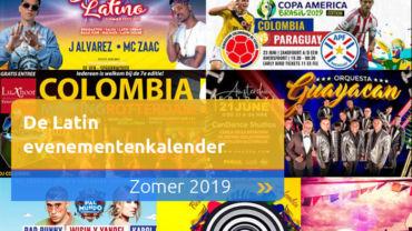 De Latin zomer evenementenkalender 2019