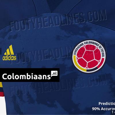 uitshirt Colombia 2020