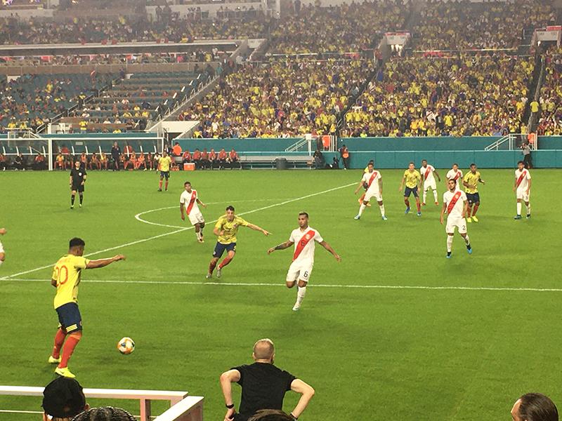 Colombia - Peru