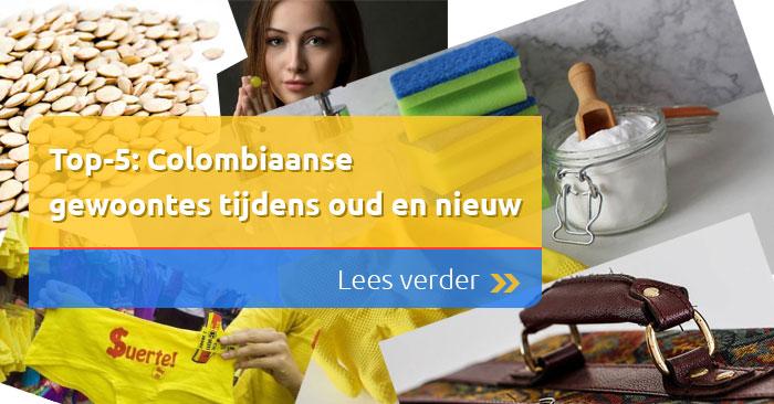 Top-5: Colombiaanse gewoontes tijdens oud en nieuw