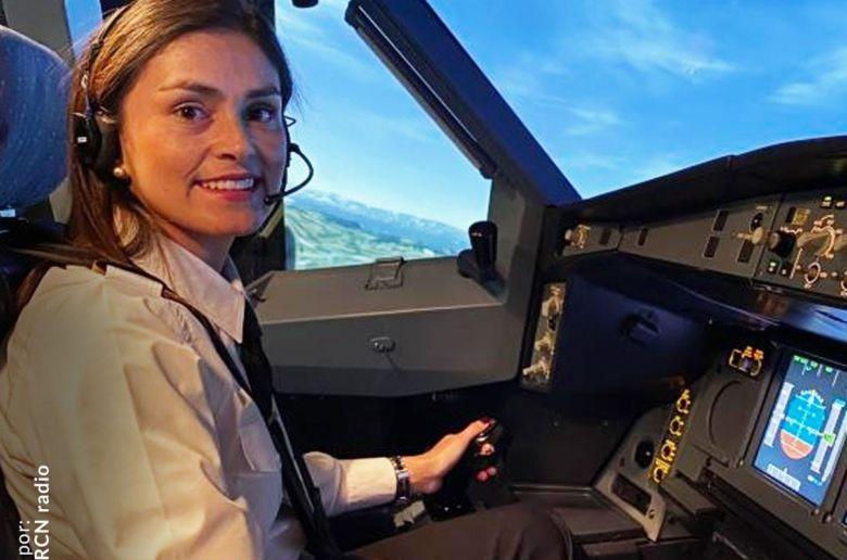 Camila Basto is jongste pilote van Colombia