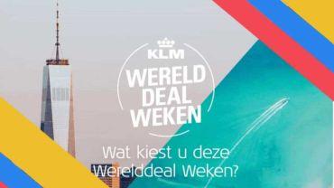 KLM Werelddealweken 2020