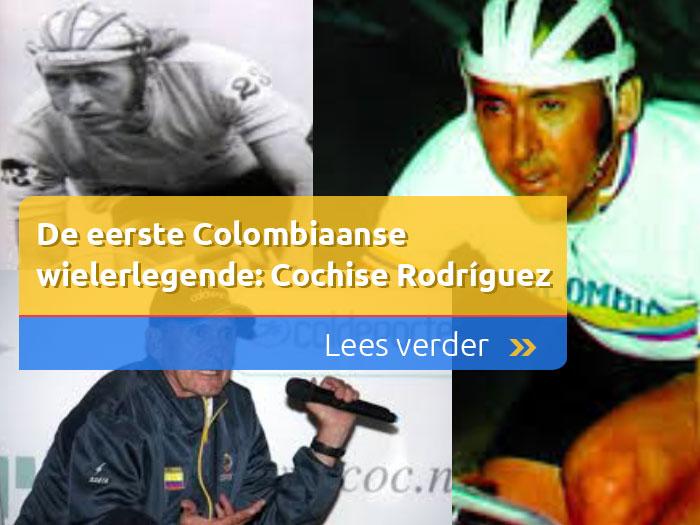 Colombiaanse wielerlegende