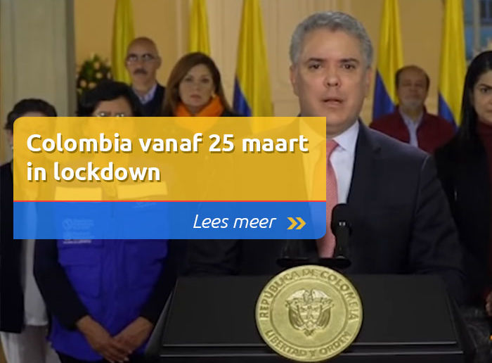 colombia in lock down