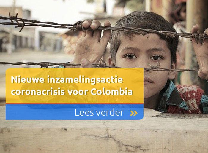 Nieuwe inzamelingsactie coronacrisis voor Colombia