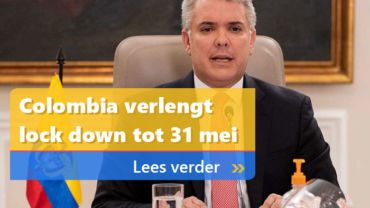 Colombia verlengt lock down tot 31 mei