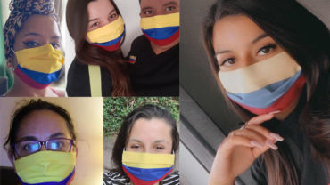Exclusief te koop: Het Colombia mondkapje