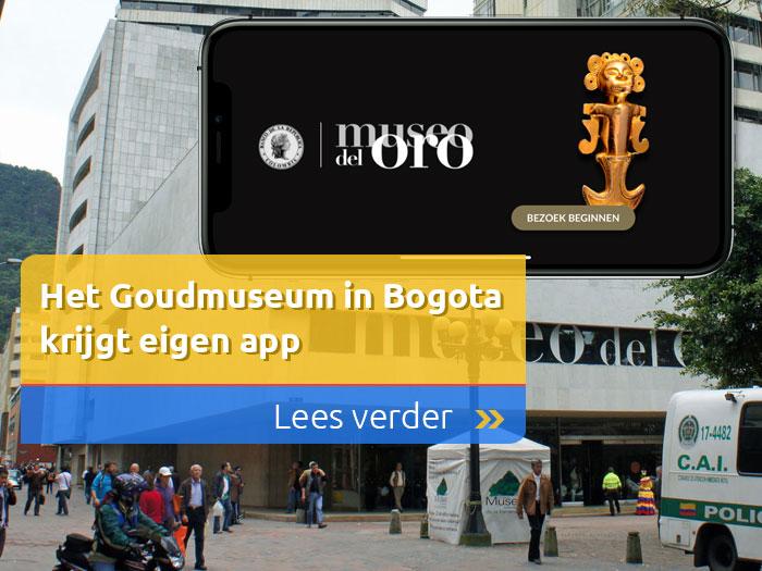 Het Goudmuseum in Bogota krijgt eigen app